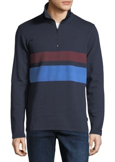 WESC Malte Striped Pullover Sweatshirt