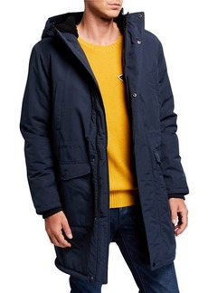 WESC Men's Hooded Winter Parka