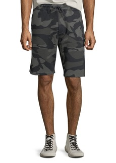 WESC Men's Marty Camo Shorts w/ Drawstring