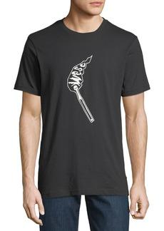 WESC Men's Max Matchstick T-Shirt