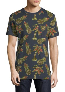 WESC Men's Maxwell Pineapple Graphic T-Shirt