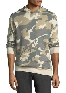"WESC Men's ""Mike"" Camo Spring Fleece Sweatshirt"
