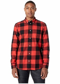 WESC Olavi Plaid Long Sleeve Shirt