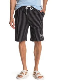 WESC Pinstripe Drawstring Shorts