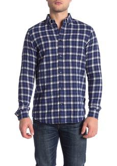 WESC Plaid Flannel Long Sleeve Regular Fit Shirt