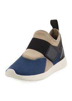 WESC Men's Stretch-Sock Platform Sneakers