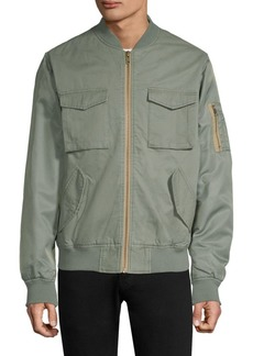 WESC Contrast Two-Tone Bomber Jacket