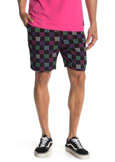 WESC Wasted Youth Checker Drawstring Shorts