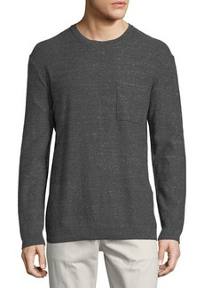 WESC Arvid Heathered Crewneck Sweater