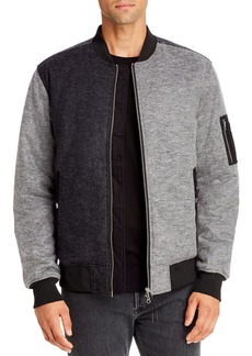 WeSC Bomber Flannel Jacket