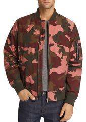 WeSC Camouflage-Print Bomber Jacket