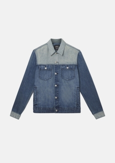 WeSC Denim Jacket Indigo Block