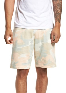 WeSC Marty Pastel Camo Fleece Shorts