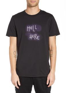 WeSC Max Neon Graphic T-Shirt