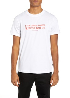 WeSC Max Old People Graphic T-Shirt