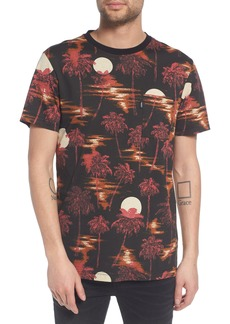 WeSC Maxwell Hawaii Print Graphic T-Shirt