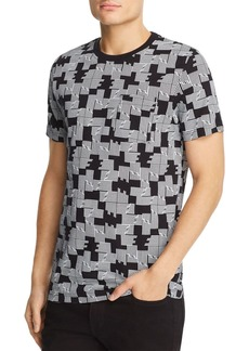 WeSC Maxwell Puzzle Check-Print Tee