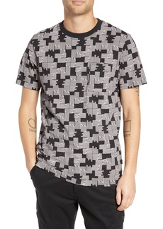 WeSC Maxwell Puzzle Check T-Shirt
