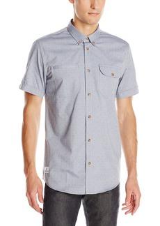 WeSC Men's Hobson Short Sleeve Shirt