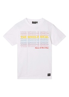 WeSC Men's Max The Whole Meal Graphic Tee