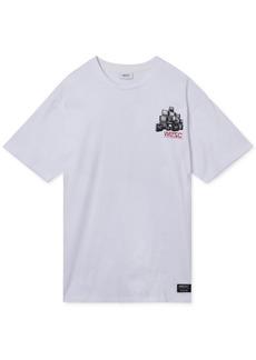 WeSC Men's Media Junkie Graphic T-Shirt