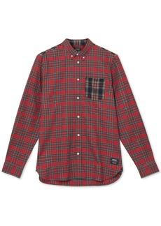 WeSC Men's Tartan Flannel Shirt