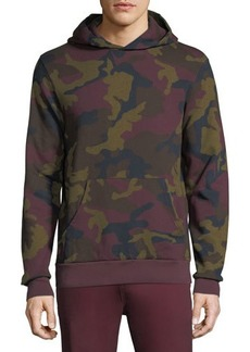 WESC Mike Camo Double-Layered Hoodie