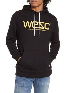 WeSC Mike Logo Hooded Sweatshirt