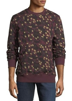 WESC Miles Animal Printed Sweatshirt