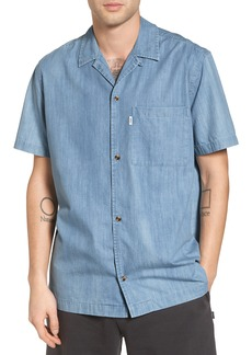 WeSC Nevin Short Sleeve Denim Shirt