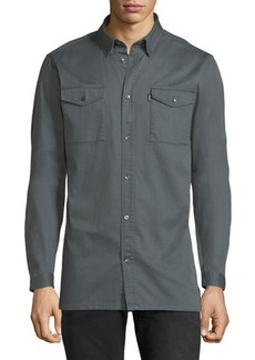 WESC Olaf Cotton Workwear Shirt