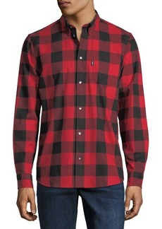 WESC Olavi Flannel Check Shiry
