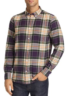 WeSC Olavi Plaid Regular Fit Button-Down Shirt