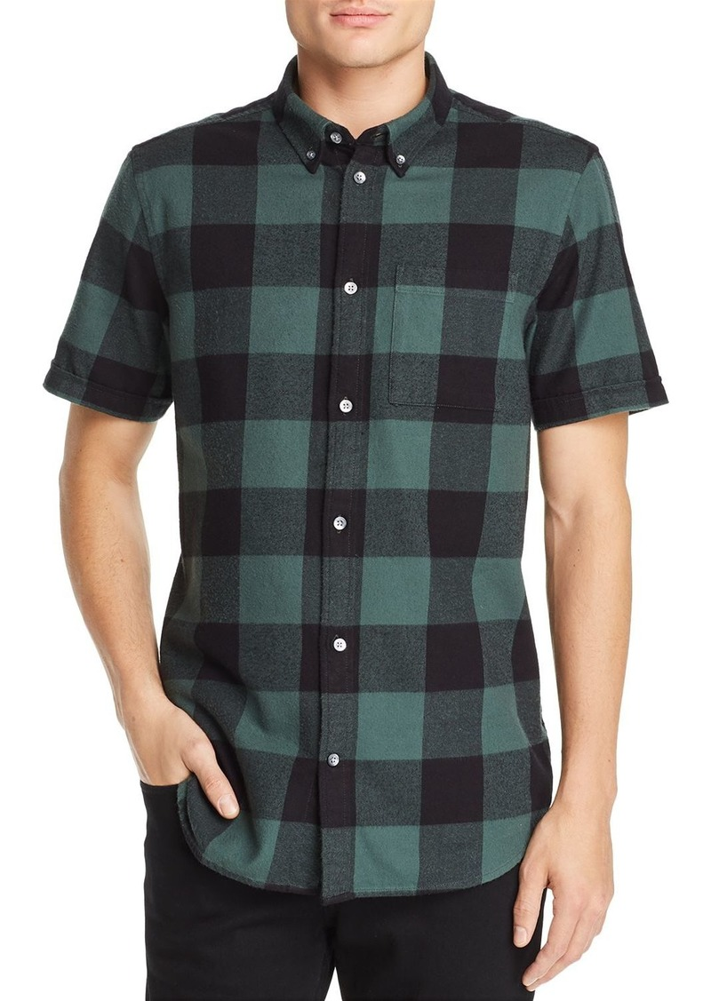 db6239a4977 WESC WeSC Olavi Regular Fit Plaid Shirt