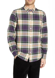 WeSC Ovavi Plaid Flannel Shirt
