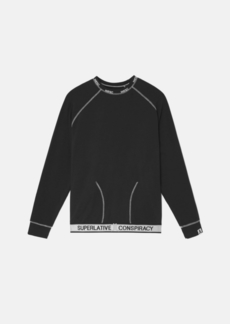 WeSC Parker Solid Long Sleeve Lounge T-Shirt