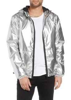 WeSC The Silver Metallic Windbreaker