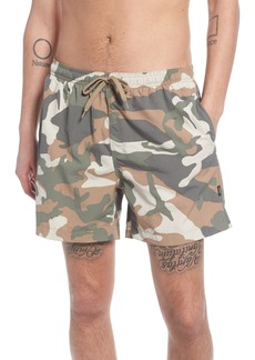 WeSC Zack Camo Swim Trunks