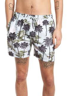 WeSC Zack Hawaii Swim Trunks