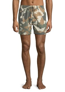 WESC Zack Camo Swim Shorts