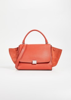 What Goes Around Comes Around Celine Leather Trapeze Bag