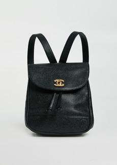 What Goes Around Comes Around Chanel Black Caviar 3CC Medium Backpack