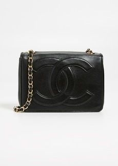 What Goes Around Comes Around Chanel Black Flap Mini Bag