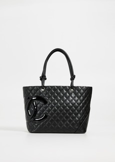 What Goes Around Comes Around Chanel Calf Large Tote