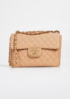 What Goes Around Comes Around Chanel Caviar Half Flap Jumbo Bag