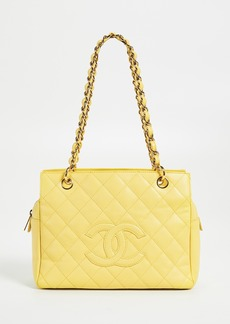What Goes Around Comes Around Chanel Caviar Zip Tote