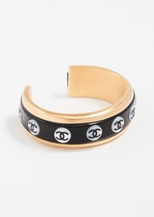 What Goes Around Comes Around Chanel CC Cuff Bracelet
