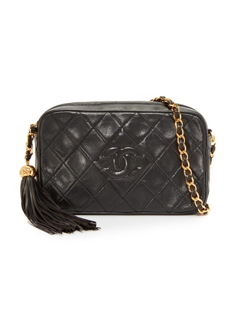 c07d3c288174 What Goes Around Comes Around Chanel CC Diamond Camera Bag (Previously Owned )