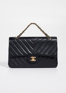 What Goes Around Comes Around Chanel Chevron Flap Bag