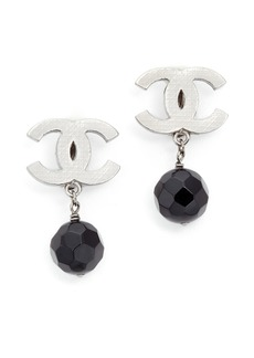 What Goes Around Comes Around Chanel Dangle Clip On Earrings (Previously Owned)